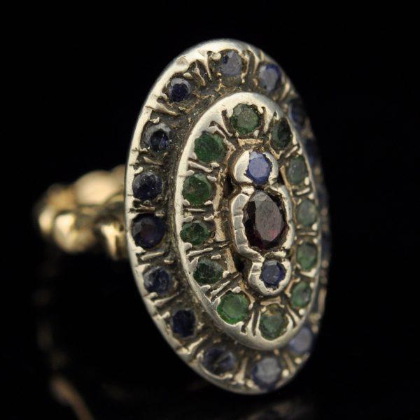 Antiikne sõrmus hõbe ja kuld