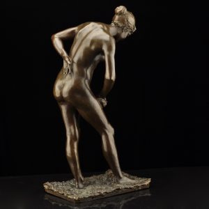 Rudolf Maison (1854-1904) bronze nude female figure