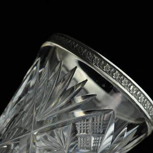 EW aegne kristall vaas, hõbe 875 MÜÜDUD