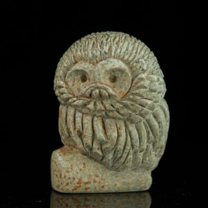 Estonian ceramic owl by Ester Lukas