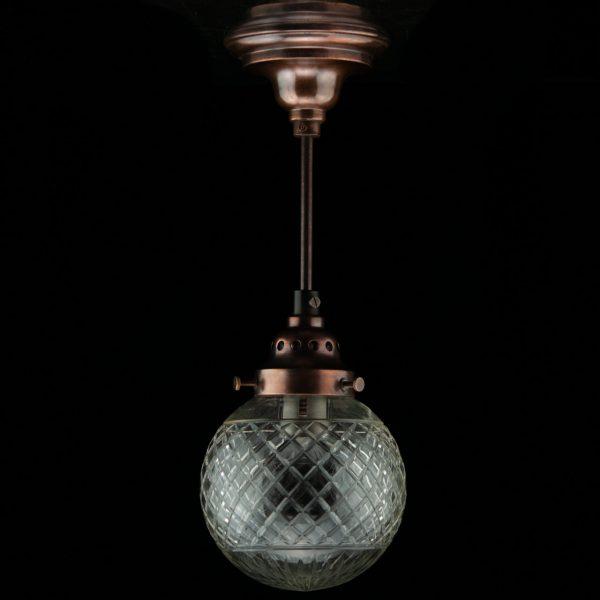 Funk laelamp ühe klaaskupliga