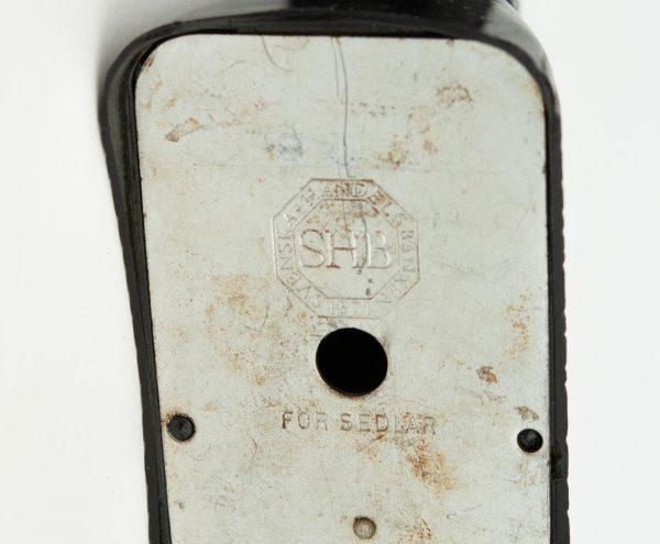 Antiikne Rootsi koerakujuline rahakassa - SHB, bakeliit