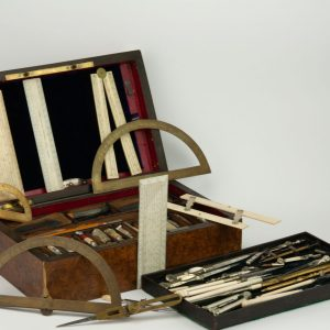 Antiikne XIX saj. joonestamise komplekt