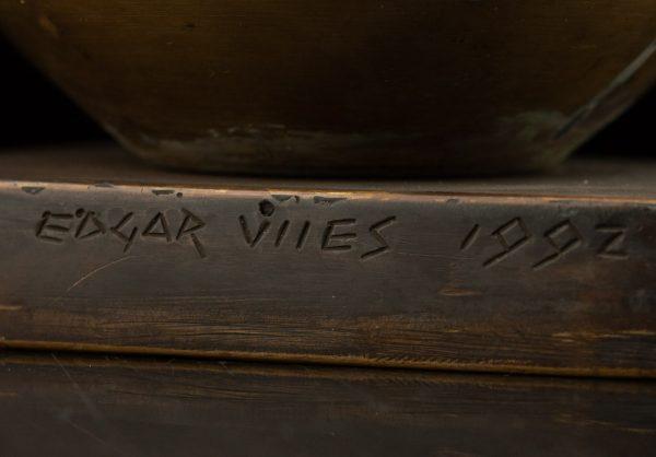 "Edgar Viies (1931-2006) pronkskuju ""Naeris"" 1992 a."