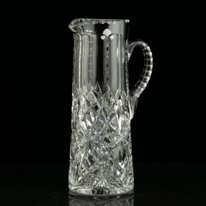 Antique crystal pitcher