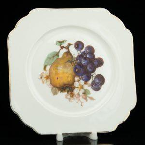 Langebrauni puuviljadega taldrik