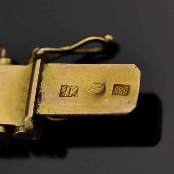 Omega käekell ketiga - 585 kuld