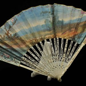 Antiikne XVIII saj. käsimaalinguga lehvik