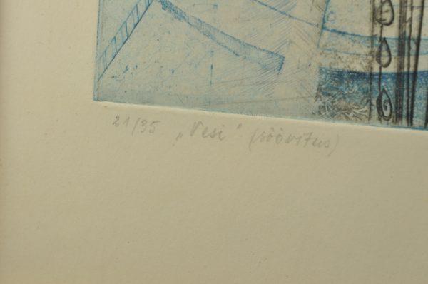 """Vive Tolli """"Vesi"""" söövitus,1975a"""