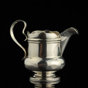 Antique Imperial Russian 84 silver cream jug