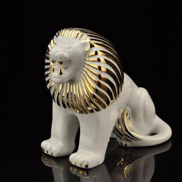 Dmitrovski tehase portselan figuur Lõvi