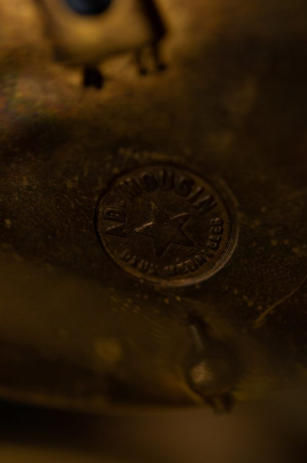 "Antiik lauakell ""AD.MOUGIN DEUX MEDAILLES"" Prantsusmaa"