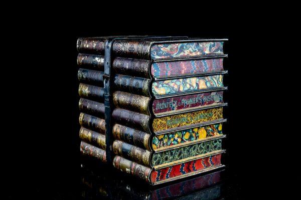 """Antiikne plekist karp """"Raamatud"""""""