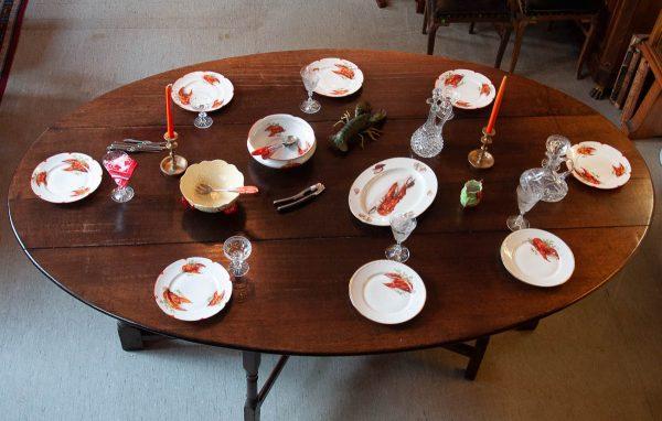 Antiikne suur laud 19 saj.