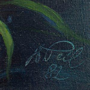 """Voldemar Peil (1907-1999) """"Meelespead"""" 1982a"""