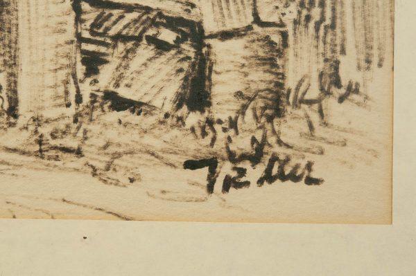 """Voldemar Eller (1906-2004) """"Tallinna kindlus tornid"""""""