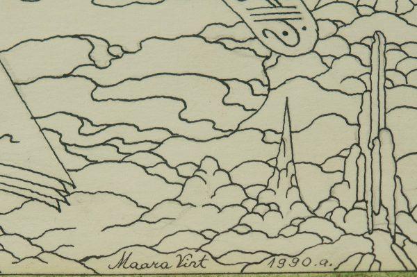 """Maara Vint """"Krüsanteemi ordu"""" 1990a"""
