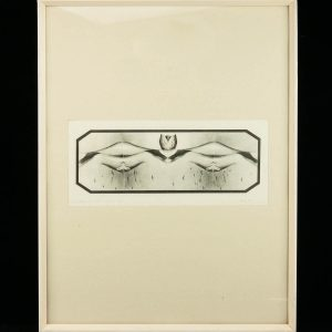 """Aili Vint """"Variatsioonid VII A"""" söövitus 1980a"""