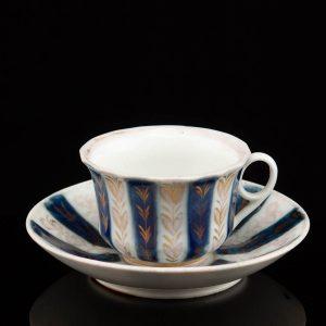 Antique Russian porcelain Gardner cup