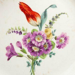 Antiikne Meissen-Marcolini taldrik