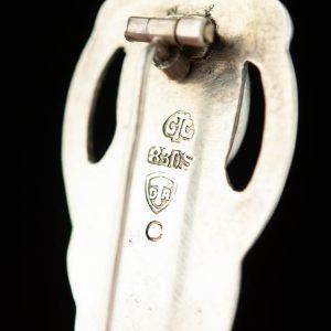 Antiikne Taani pross skonvirke - 830 hõbe, juugend