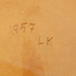 Eesti keraamiline seinataldrik 1957a