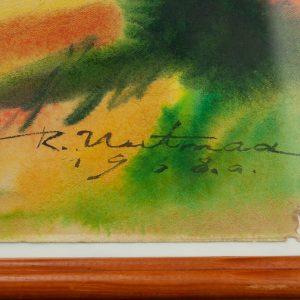 Richard Uutmaa akvarell 1968a