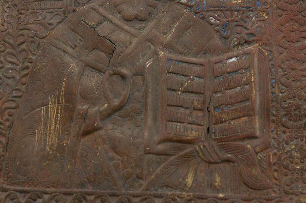 Antiikne pronks ikoon