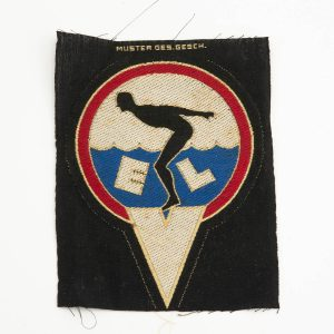Antique Estonian textile pennant