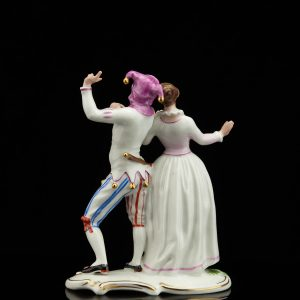Rosenthal porcelain figure of dancing couple, masquerade