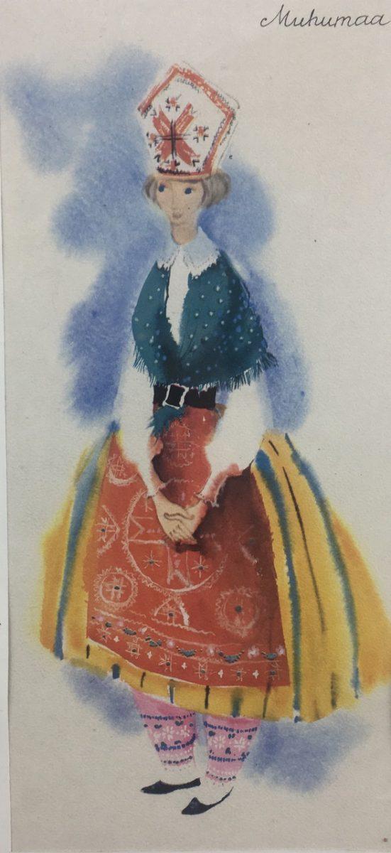 Akvarell - Autor: S. Leitu