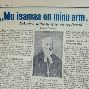 Eesti Sõna newspaper