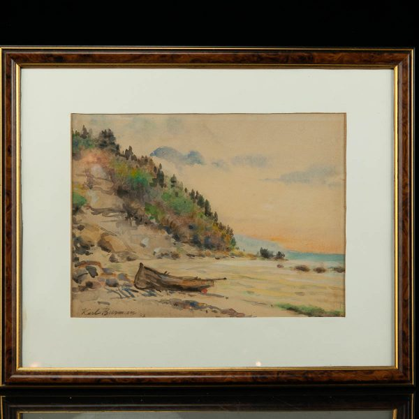 Karl Burman akvarell 1953a
