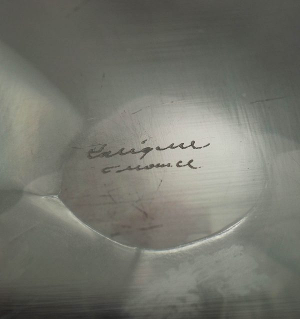 Lalique küünlajalg - kristall