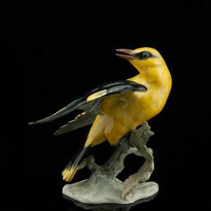 Rosenthali linnu figuur - sign. F.Heidenreich, Saksa portselan
