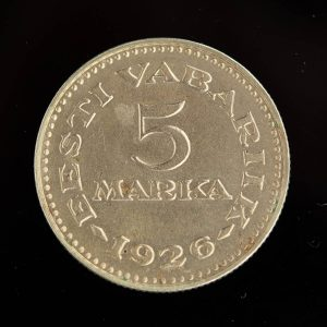 5 marka münt 1926a EW