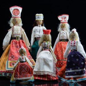 Erinevad rahvariietes ´´Salvo´´ nukud