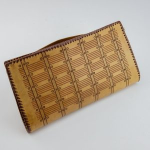 Estonian leather purse