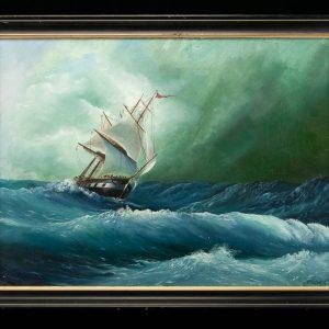 Õlimaal Tormine meri, A.Solodkevits