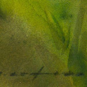 Enno Lehis (1912-2011) watercolor, nude