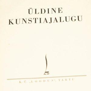 Voldemar Vaga Üldine Kunstiajalugu 1937a