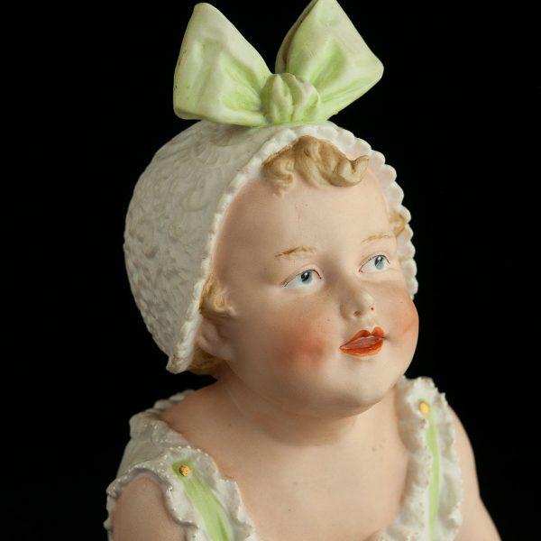 Antiikne biskviitportselan kuju Piano dolls GEBRUDER HEUBACH