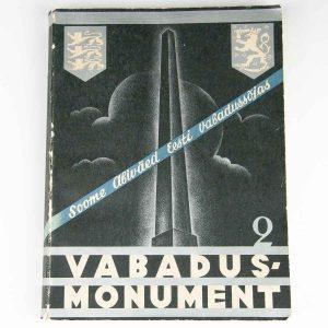 Estonian book VABADUSMONUMENT II 1936A
