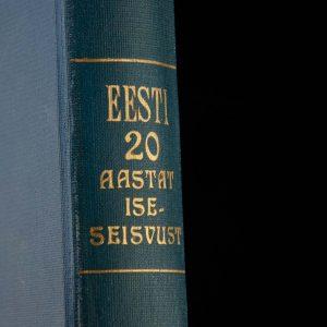 EW raamat EESTI 20 AASTAT ISESEISVUST