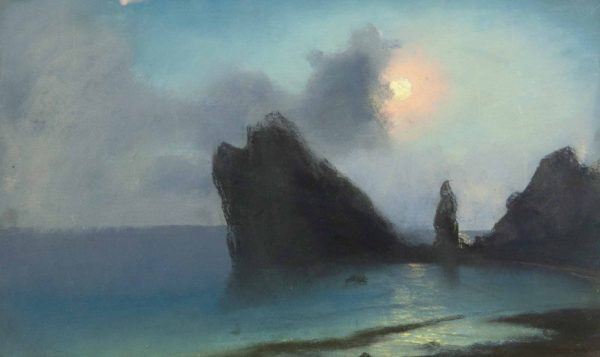 Antiikne maal Meri kuupaistel 1909a