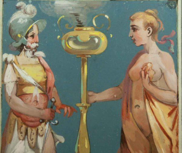 Nikolai Blinov (1868-1966) akvarell Roma