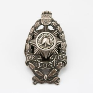 Latvian Firefigher Badge