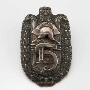 Latvian firefighters badge - F. Müller