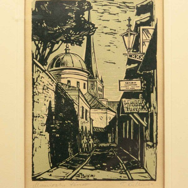 Toivo Kulles (1918-1984) Müürivahe tänav 1964a