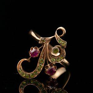 Tsaari-Vene sõrmus, 56 kuld
